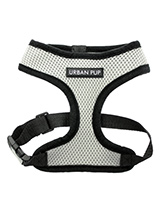 Steel Grey Soft Harness - Our Steel Grey Soft Harness has been designed by Urban Pup to provide the ultimate in comfort and safety. It features a breathable material for maximum air circulation that helps prevent your dog overheating and is held in place by a secure clip in action. The soft padded breathable side covers the...