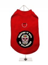 ''Halloween: Creeping it Real'' Harness-Lined Dog T-Shirt