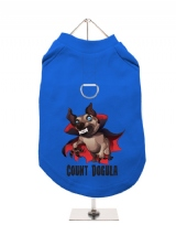 ''Halloween: Count Dogula'' Harness-Lined Dog T-Shirt