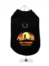 ''Halloween: Zombie Hunters'' Harness-Lined Dog T-Shirt