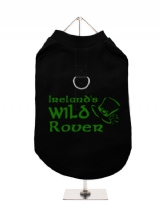 ''St. Patrick: Irelands Wild Rover'' Harness-Lined Dog T-Shirt